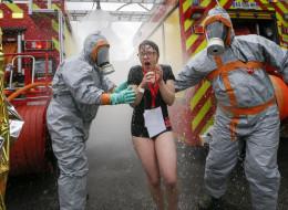 Une attaque chimique simulée à Saint-Etienne avant l'Euro 2016
