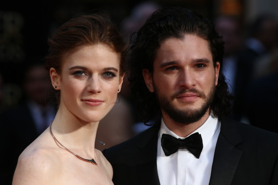 kit harington game of thrones couple