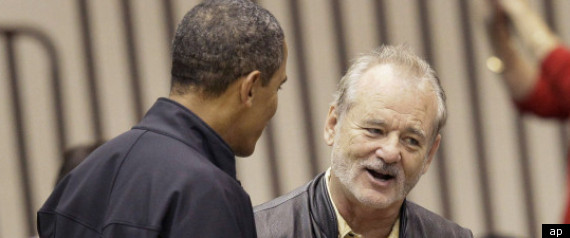 Obama Bill Murray