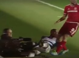 Ce joueur de soccer canadien a disparu dans un trou en plein match (VIDÉO)