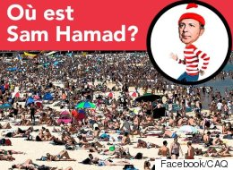 La CAQ cherche Sam Hamad à la plage