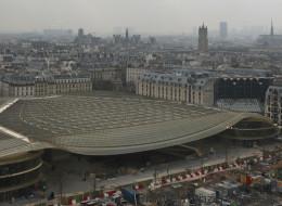 Inauguration des nouvelles Halles à Paris, après 5 ans de travaux