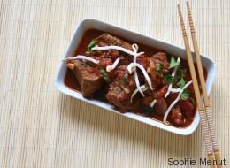 Vite fait, bien fait: Sauté de bœuf au curry rouge