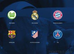 Champions League: así es 'el club de los 8'