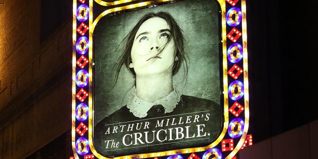 Why arthur miller write the play the cruicible ?
