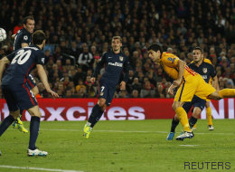 Barça y Atlético lo dejan todo para el Calderón en un partido vibrante