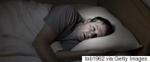 LYING AWAKE AT NIGHT