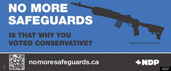 Ndp Leadership Gun Registry Ad