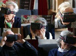 On a fait tester un casque de réalité virtuelle à des personnes âgées (VIDÉO)