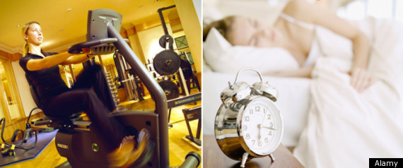 Exercise Sleep Quality