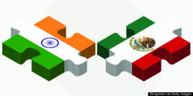 india mexico flag