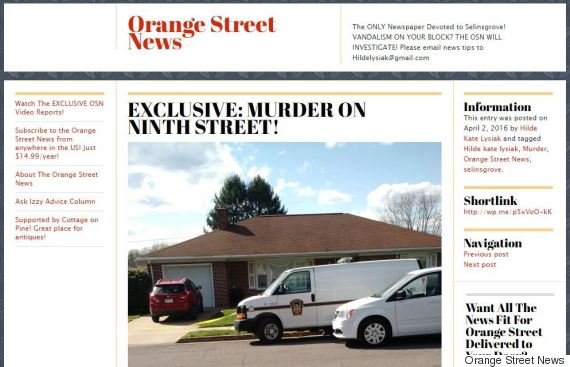 orange street news