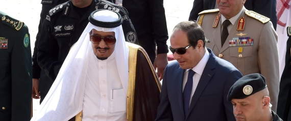 SALMAN OF SAUDI ARABIA EGYPT