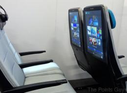 Bientôt dans les avions, des écrans géants sur le dossier des sièges?