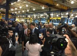Prolongement de la ligne bleue: «Nous allons le faire» dit Trudeau (VIDÉO)