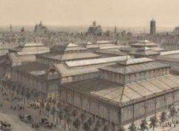 L'évolution des Halles de Paris entre 1852 et 2016 en un GIF