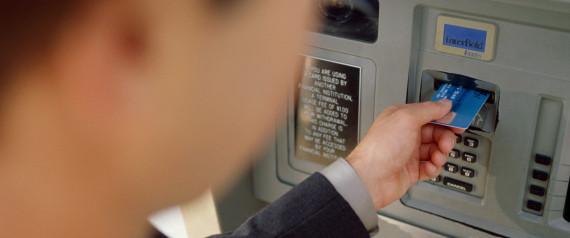 BANK CARD ATM