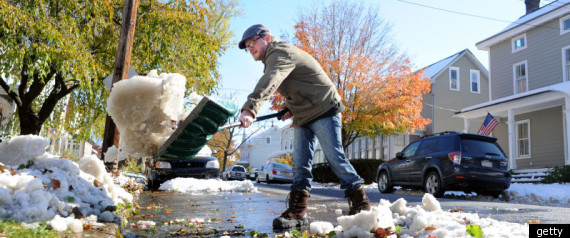 SNOW SHOVELING TAX CREDIT