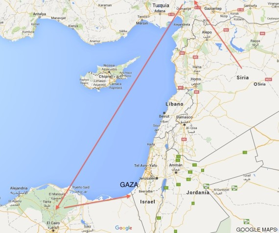 siria a gaza