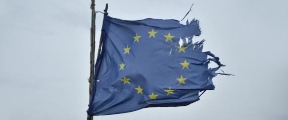EU FLAG DAMAGED