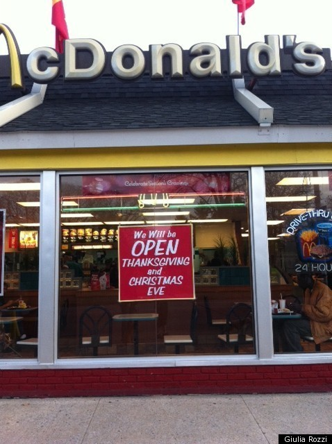 McDonald's Is There For You This Holiday Season (PHOTO) | HuffPost
