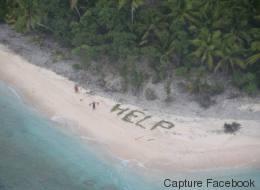 Le sauvetage de ces trois marins sur une île déserte est digne d'un film