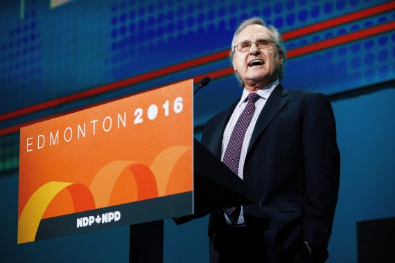 stephen lewis ndp convention