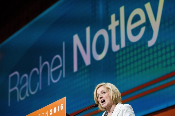 rachel notley ndp convention