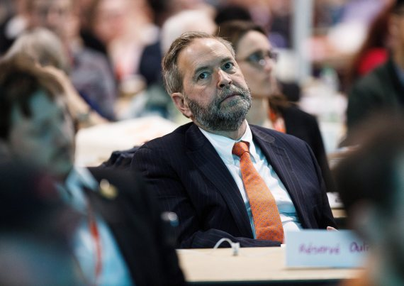 thomas mulcair ndp convention