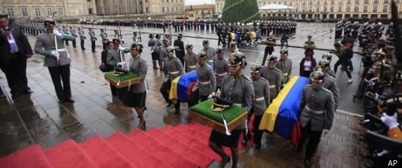 COLOMBIA FARC BLAMES GOVERNMENT