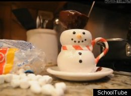 WATCH: Make Double Chocolate Hot Chocolate