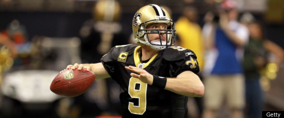 Drew Brees Saints Giants