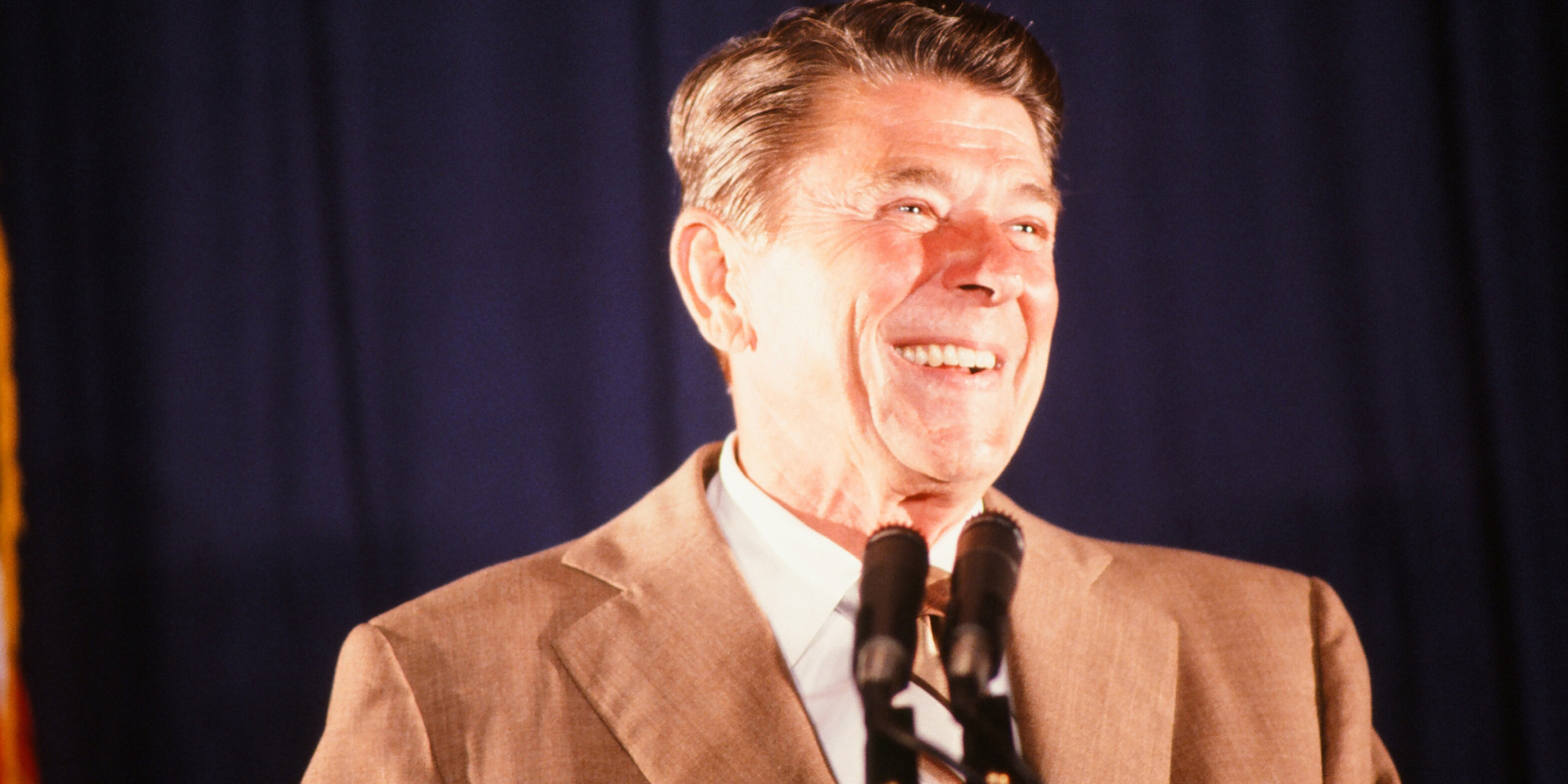 short essay on ronald reagan Essay primary sources  this case study utilizes both the text and video footage of president ronald reagan's june 1987 speech at the brandenburg gate in west.