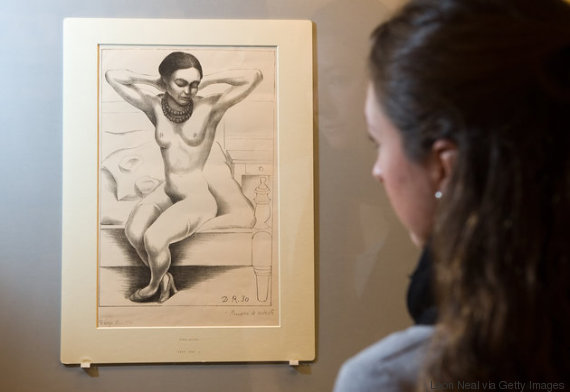 diego rivera desnudo kahlo