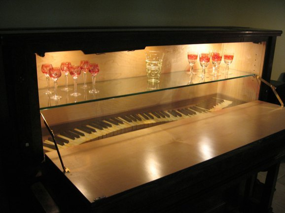 custommade curator piano bar huffpost. Black Bedroom Furniture Sets. Home Design Ideas