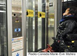 Les millions fédéraux pour l'accessibilité universelle dans le métro