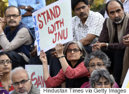 LG Najeeb Jung Disfavours Action Against Students Shouting  'Anti-National' Slogans