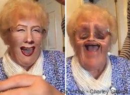 Cette grand-maman découvre les filtres: rires garantis! (VIDÉO)