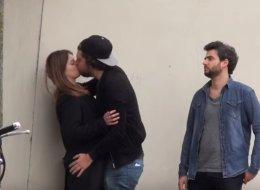L'irrésistible parodie des vidéos du type «Comment embrasser une inconnue» (VIDÉO)
