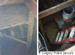 Bizarre Discovery Made In Calgary Man's Backyard