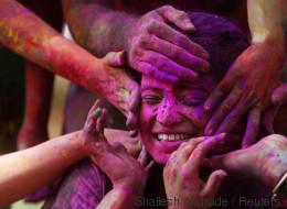 Les plus belles photos du Festival Holi 2016