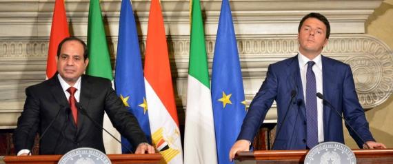 EGYPTIAN PRESIDENT ITALIAN PRESIDENT