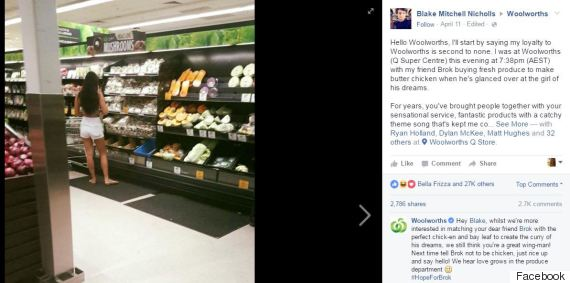 facebook woolworths girl mushrooms