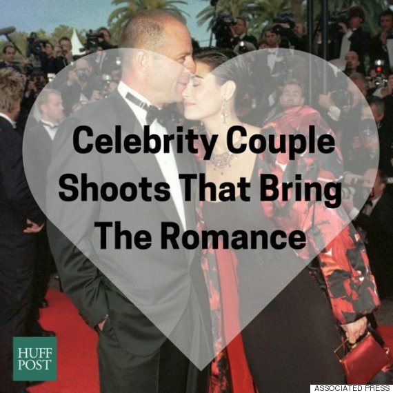 celebrity couple shoots