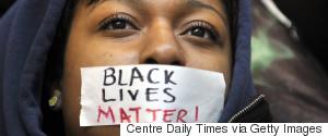BLACK LIVES MATTER STUDENT