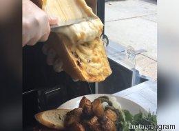 Quand les Américains découvrent la raclette (VIDÉO)