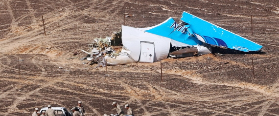 RUSSIAN PLANE CRASH EGYPT