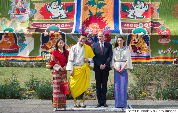 bhutan will and kate