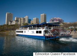 Edmonton Queen Riverboat Up For Auction