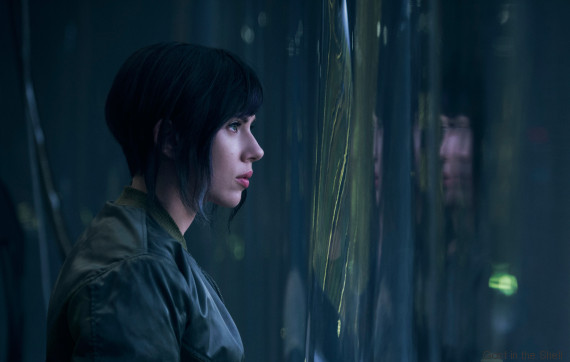 photo scarlett johansson ghost in the shell